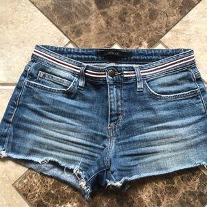 JOE'S denim jeans frayed SHORTS sz 26